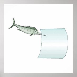 Swordfish Posters