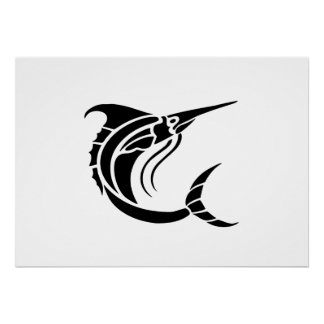 Swordfish Print