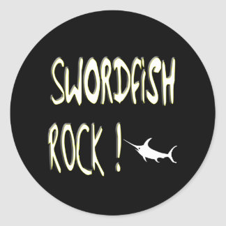 Swordfish Rock! Sticker
