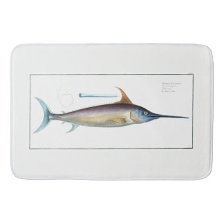 Swordfish Shower Mat