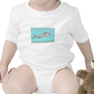 Swordfish Baby Bodysuit