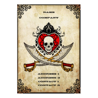 Swords and Heart - Business Card
