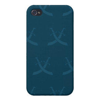 Swords Blues Cases For iPhone 4