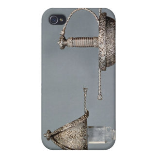 Swords: cup-hilted rapier of chiselled steel iPhone 4 case