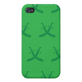 Swords Greens Cover For iPhone 4