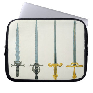 Swords, plate from 'A History of the Development a Laptop Sleeve