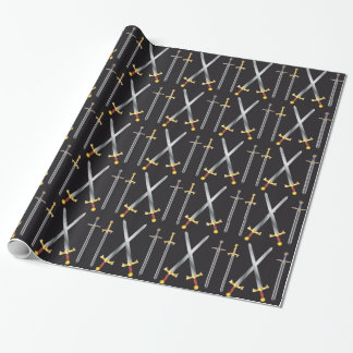 swords Wrapping Paper