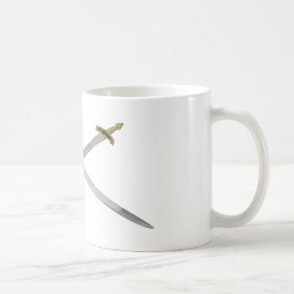 SwordsCrossed061209 Basic White Mug