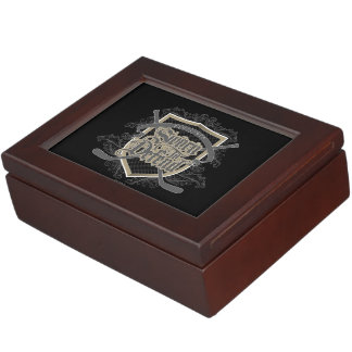 Sworn To Defend (Hockey Defenseman) Keepsake Box