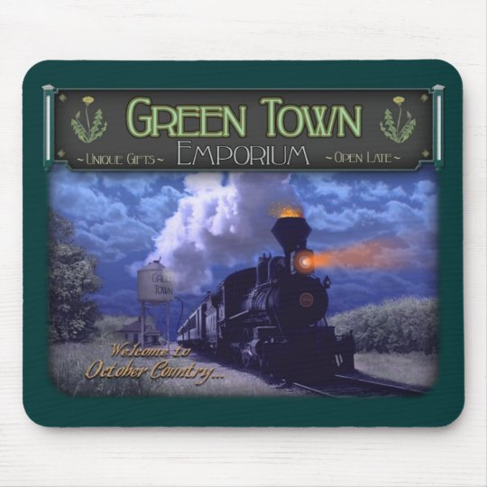 """SWTWC"" - Dark's Carnival Train Mousepad"