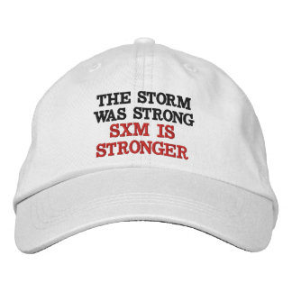 SXM IS STRONGER EMBROIDERED HAT