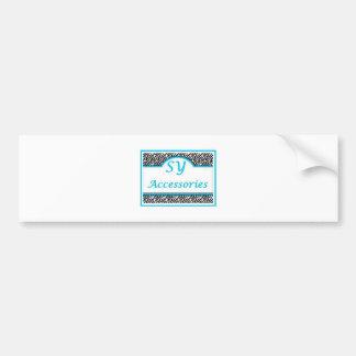 SY Acessories Logo Bumper Sticker