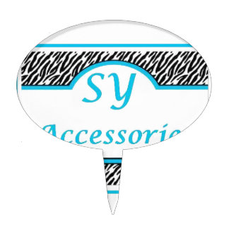 SY Acessories Logo Cake Toppers