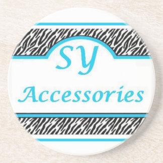 SY Acessories Logo Coaster
