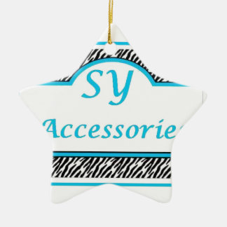 SY Acessories Logo Christmas Ornaments