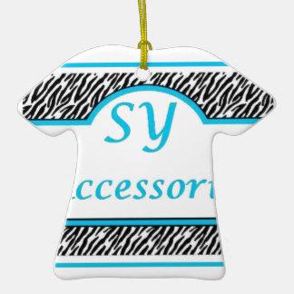 SY Acessories Logo Christmas Ornament