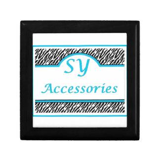 SY Acessories Logo Jewelry Box