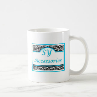 SY Acessories Logo Coffee Mugs