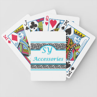 SY Acessories Logo Deck Of Cards