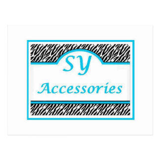 SY Acessories Logo Postcard