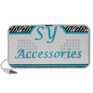 SY Acessories Logo Portable Speaker