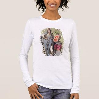 Sybil of Cumae, No. 16 from 'Antique Rome', engrav Long Sleeve T-Shirt