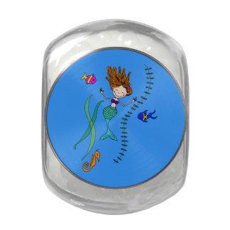 Sybil Glass Jar