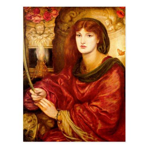 Sybilla Palmifella (The Soul's Beauty) Postcard