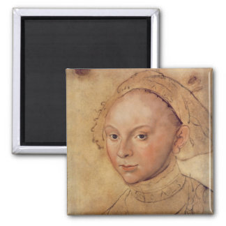 Sybille of Cleves Square Magnet