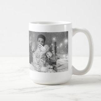 """Sybil's """"It was a snowy night in Paris.."""" mug! Coffee Mug"""