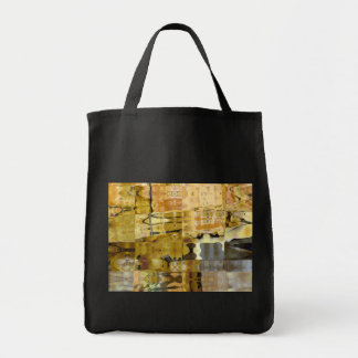 Sycamore Alley Abstract Grocery Tote Bag