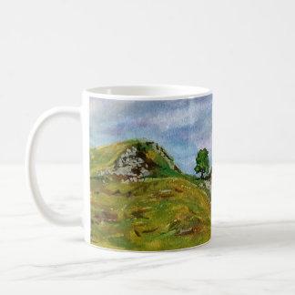 Sycamore Gap in summer Art mug by Jodeen Betton
