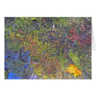 Sycamore Leaf Card