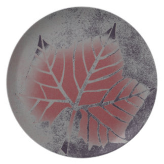 Sycamore Leaf Plate