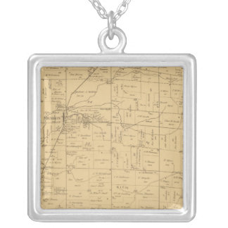Sycamore, Ohio Silver Plated Necklace