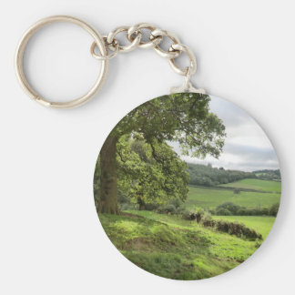 Sycharth in Powys, Wales, During Autumn Equinox Key Chains