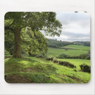 Sycharth in Powys, Wales, During Autumn Equinox Mouse Mat