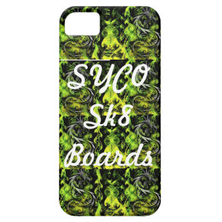 SYCO SK8 BOARDS multi green phone cover iPhone 5 Cover
