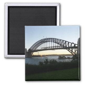 syd bridge square magnet
