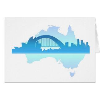 Sydney Australia Card