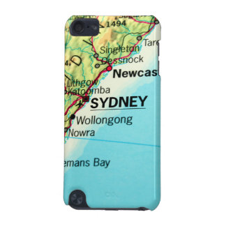 Sydney, Australia City Map iPod Touch (5th Generation) Cases