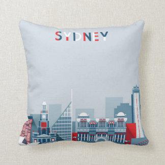 Sydney Australia City Skyline Cushion