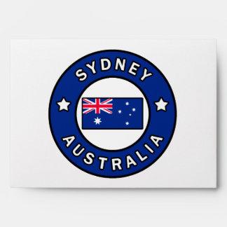 Sydney Australia Envelopes