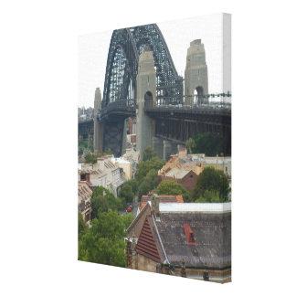 Sydney, Australia. Harbour Bridge. Canvas Print