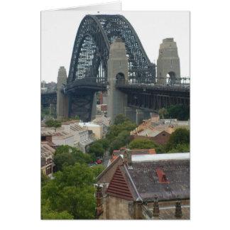 Sydney, Australia. Harbour Bridge. Card