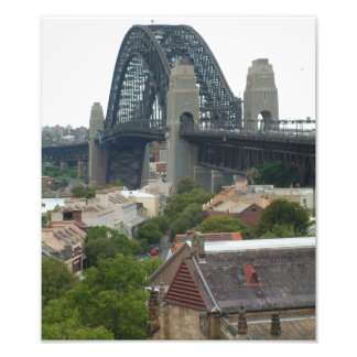 Sydney, Australia. Harbour Bridge. Photographic Print