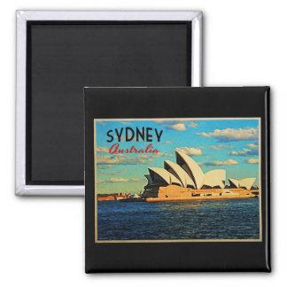 Sydney Australia Fridge Magnet