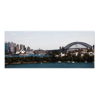 Sydney  Australia » Opera House & Harbour Bridge Art Photo