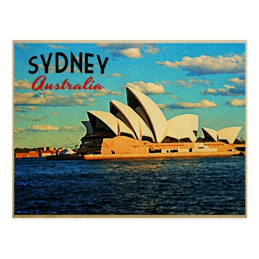 Sydney Australia Postcard