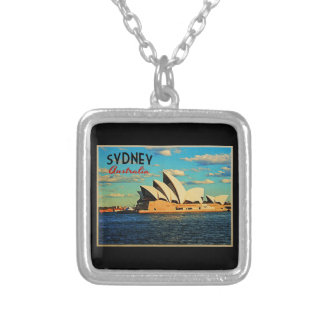 Sydney Australia Silver Plated Necklace